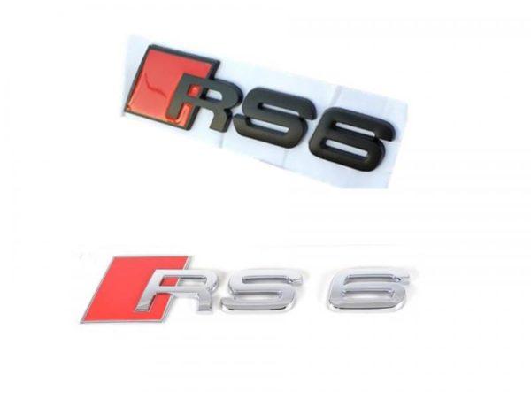 audi rs6 emblem