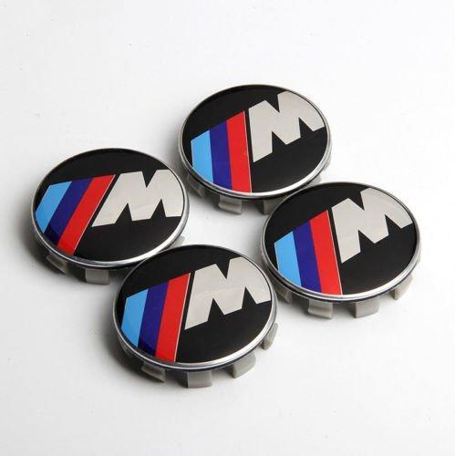 bmw m tech logo centrumkåpor
